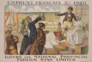 Emprunt Français 5 percent 1920 - Lloyds and National Provincial Foreign Bank Limited